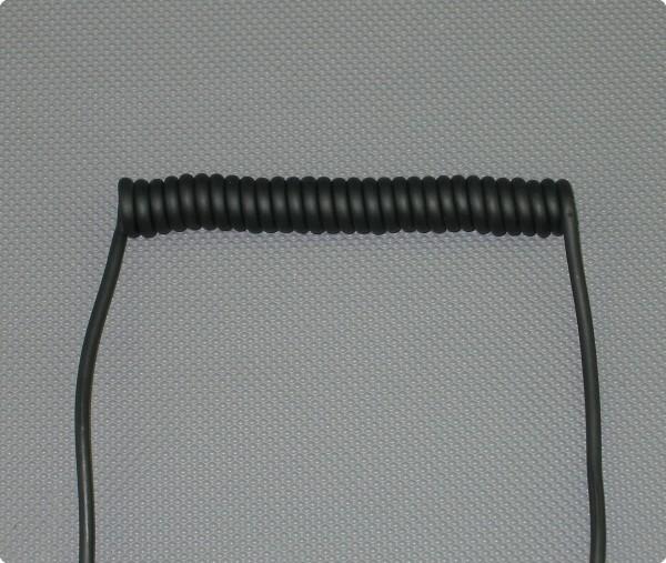 Audio Spiralkabel / Wendelkabel / Spiralleitung Industriequalität
