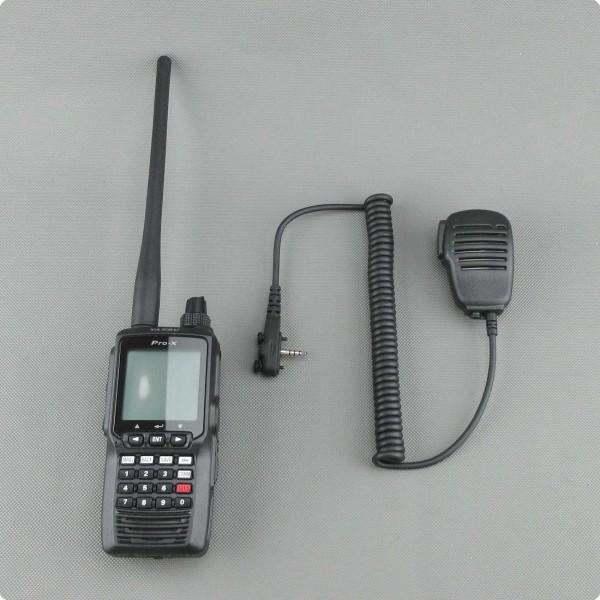 Yaesu FTA Flugfunk Funkgerät mit SSM-10A kompatiblen Mikrofon