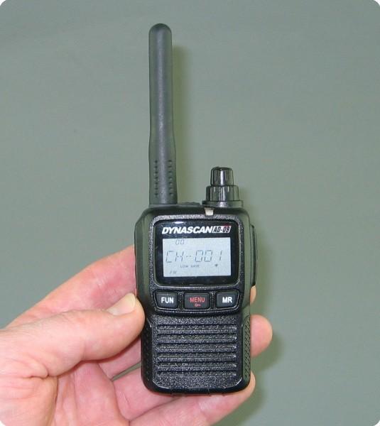 Dynascan AD-09 PMR-Funkgerät (Doppelpack)