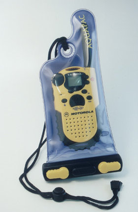 Aquapac mit PMR446 Funkgerät