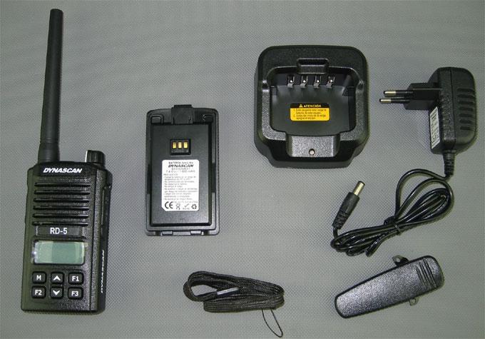 Lieferumfang Dynascan RD-5
