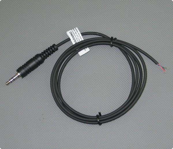 Kabel mit Motorola Visar kompatiblen Klinkenstecker 2,6 [mm] Durchmesser 100 [cm] Länge