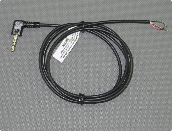 Kabel 3,5 [mm] Stereo 90° Klinkenstecker 2.6 [mm] Durchmesser 100 [cm] Länge
