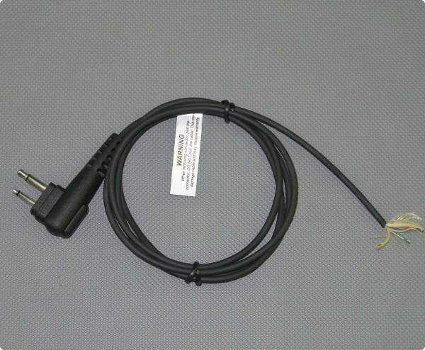 Kabel mit Motorola kompatiblen Doppel Klinkenstecker 2,6 [mm] Durchmesser 100 [cm] Länge