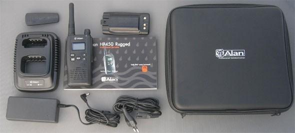 Alan HP450 PMR446 Funkgerät - wasserdicht nach IPX7