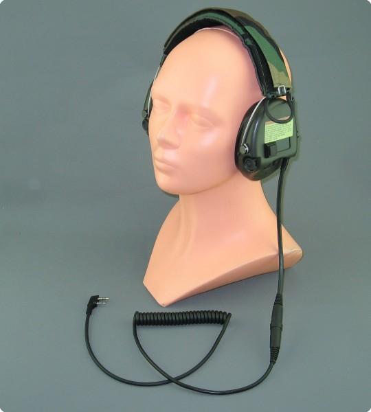 MSA-Sordin umgebautes Headset