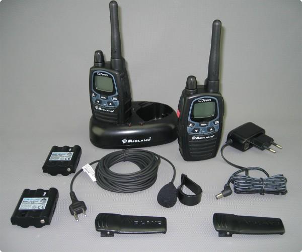 Midland G7pro Babyphonsystem mit Babymikro