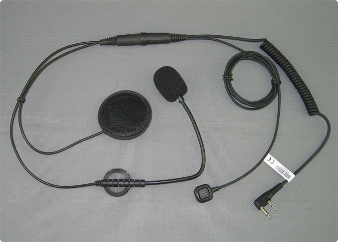Paragliding Headset mit Stabmikrofon