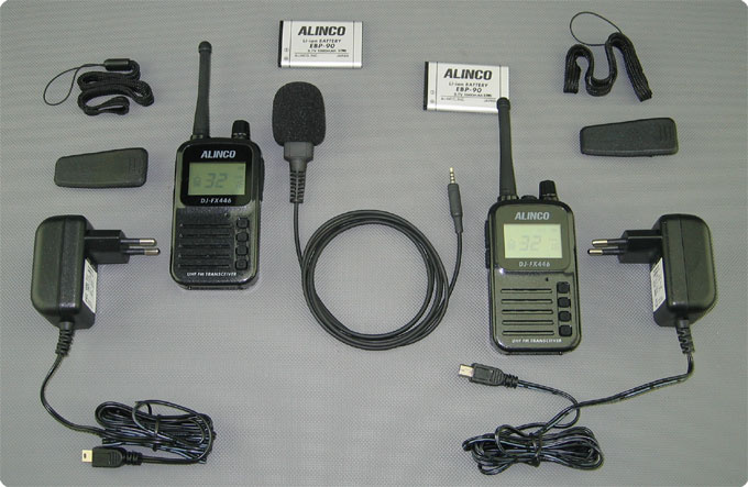 Lieferumfang Alinco FX-446 Aida Babyphone / Babyphon