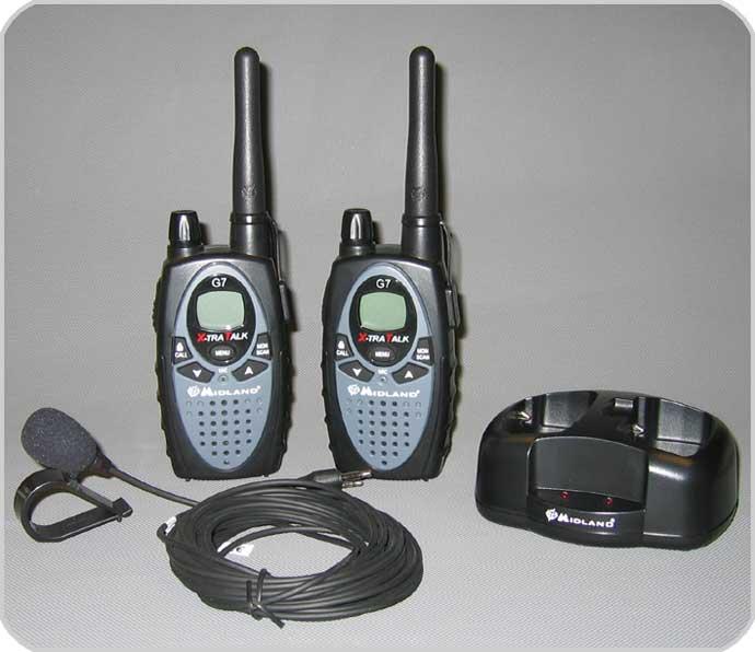 ALAN G7 / Midland G7 Babyphonsystem