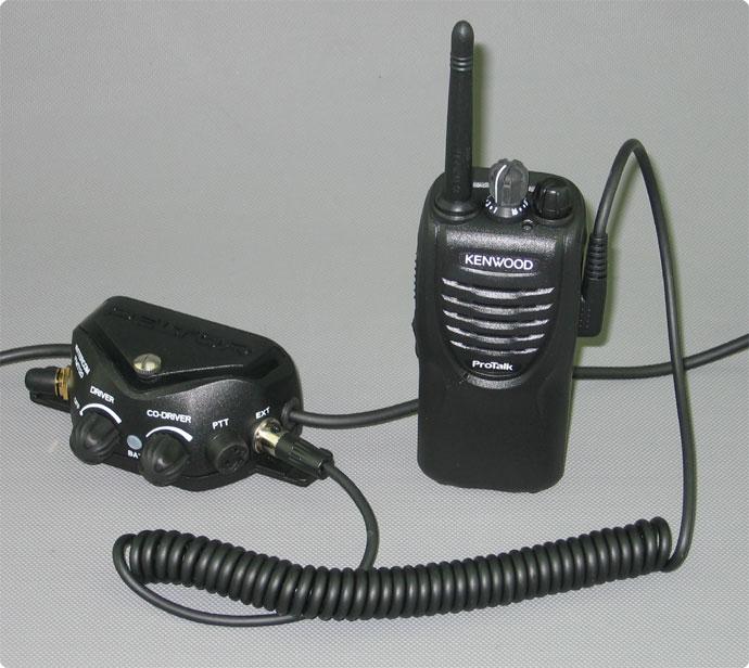 Peltor FMT120 mit Kenwood TK-3301 und Fl6U-32 K Kabel