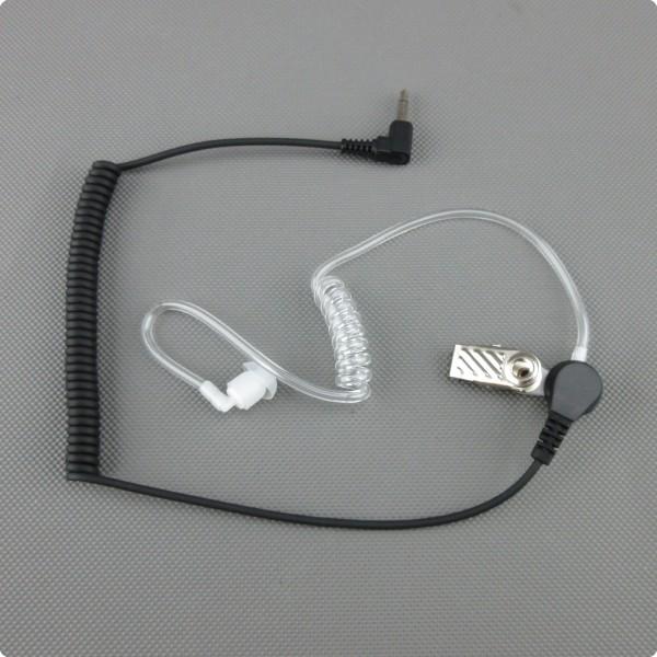 MA-12 Security Ohrhörer / Tarn Ohrhörer 90° 3.5 [mm] Mono Klinkenstecker