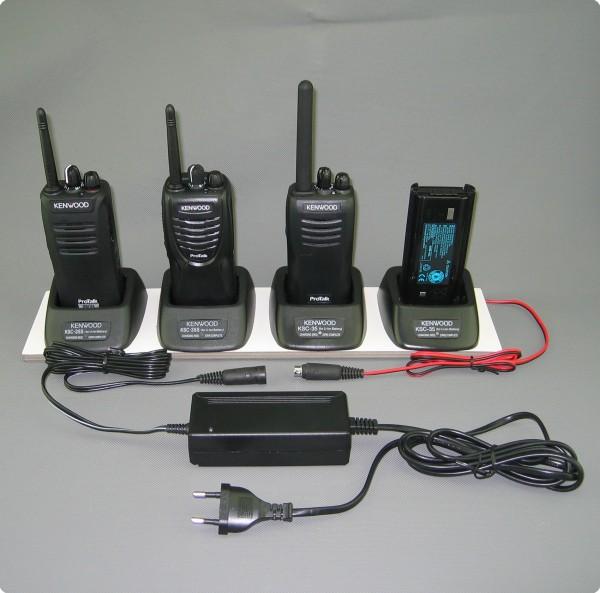 Umbau zum 4-Fach Multilader von Ladetechnik der Kenwood TK-Serie