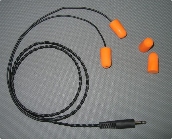 In-Ear Flugfunk Lärmschutz Ohrhörer